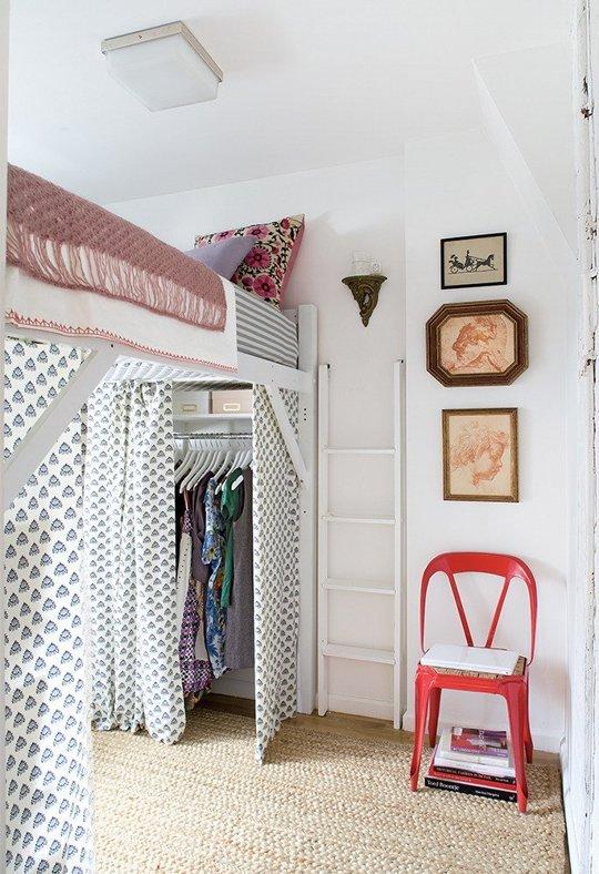 Loft Bed Closet