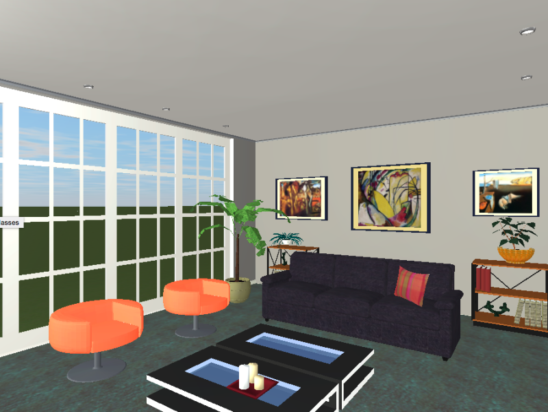 How To Design a Living Room Using Live Home 3D