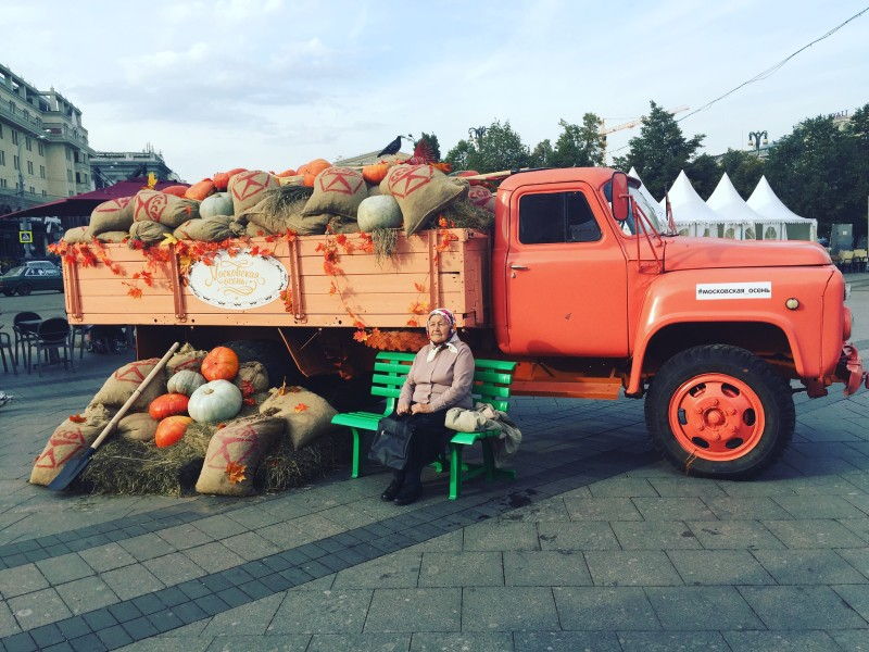 Fall Inspiration – Food Festival in Moscow