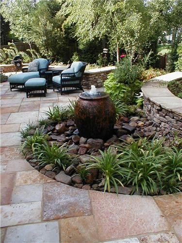 patio water feature