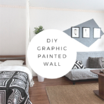 DIY Project: Graphic Painted Walls