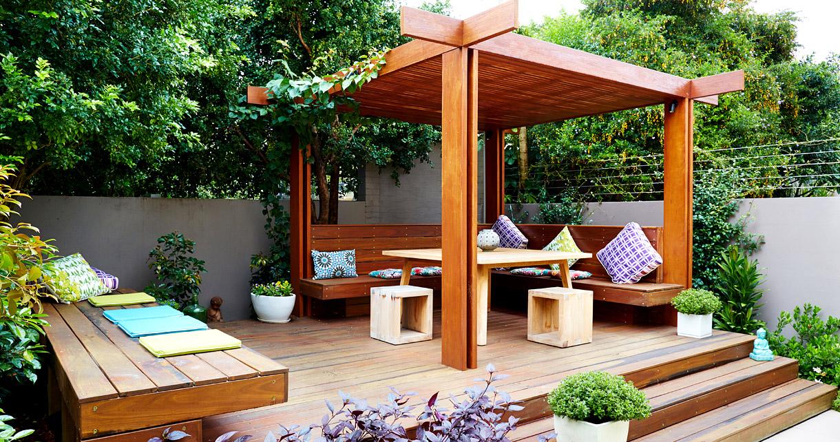 Materials in Contemporary Garden Design