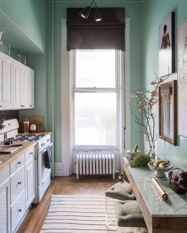 Mint Green Kitchen: Essential Colour: Mint Green