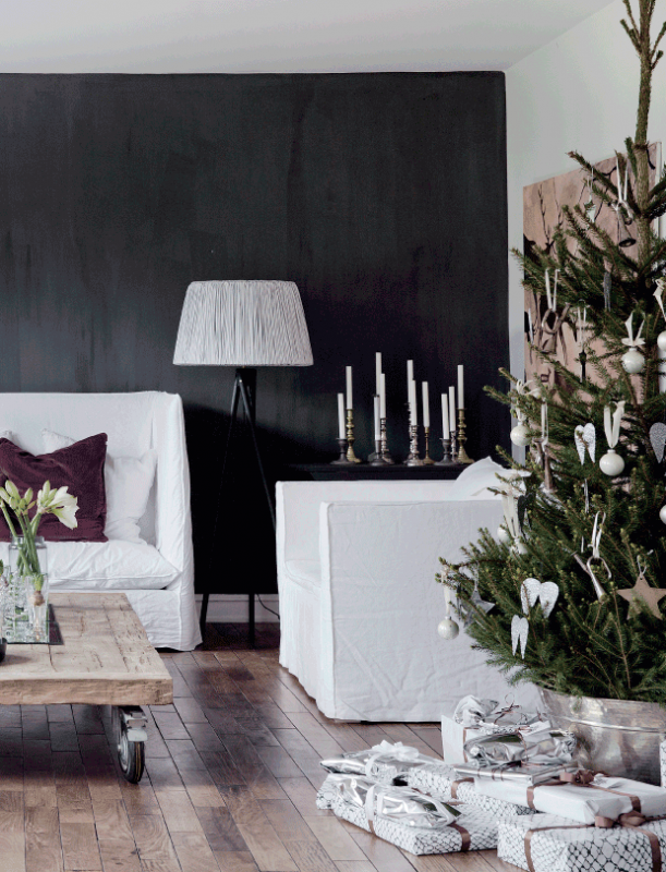 Apartment Tour: Christmas in the Colours of Nature
