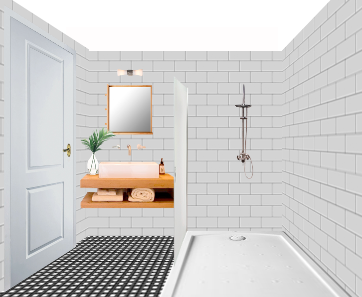 How To Design A Tiny Bathroom L 39 Essenziale