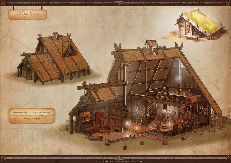Build your house like a viking l 39 essenziale for Ancient scandinavian designs