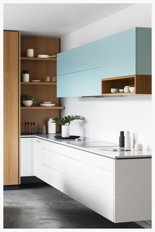 blue kitchen 2