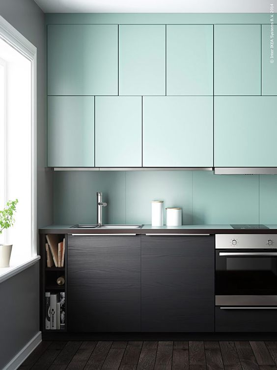 blue kitchen 5