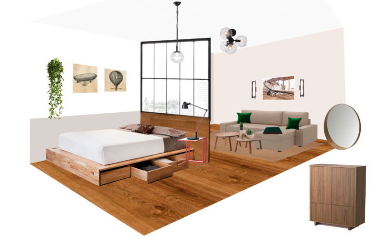 My Work On Interior Design Project: Step by Step