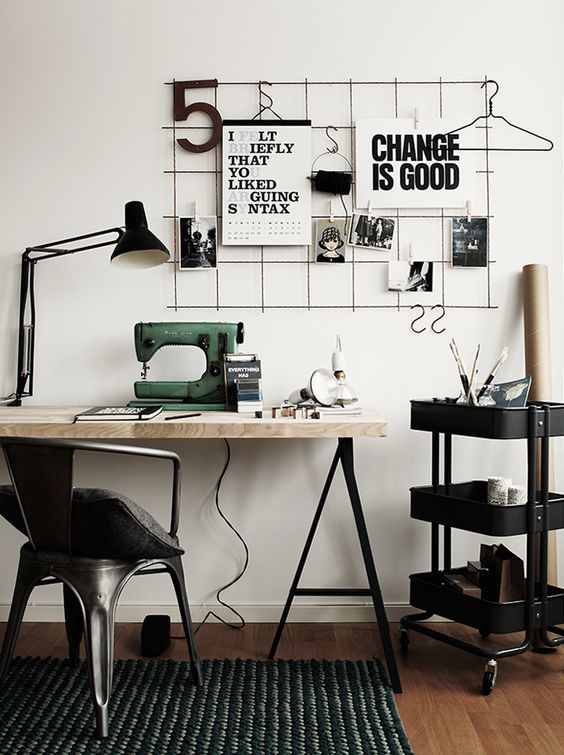 How To Create a Calm Workplace: DIY Home Office