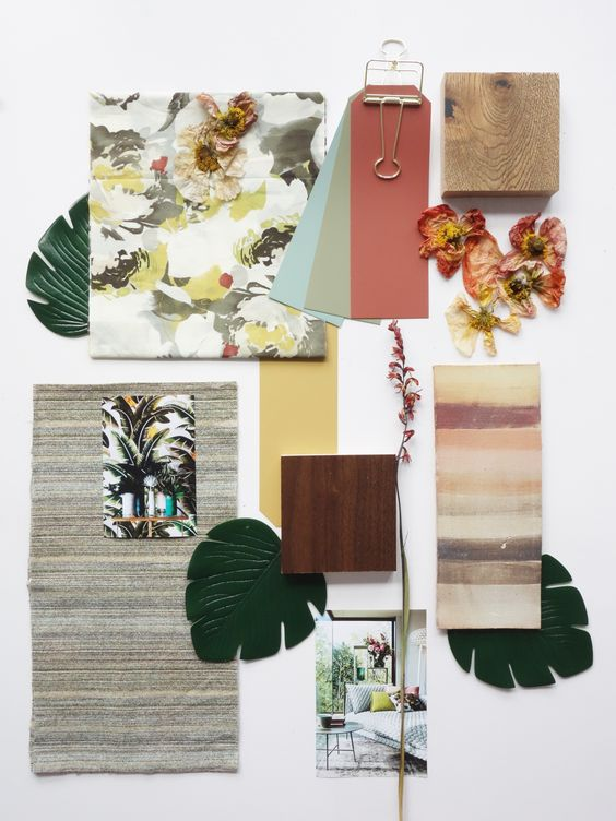 Interior Design Moodboards