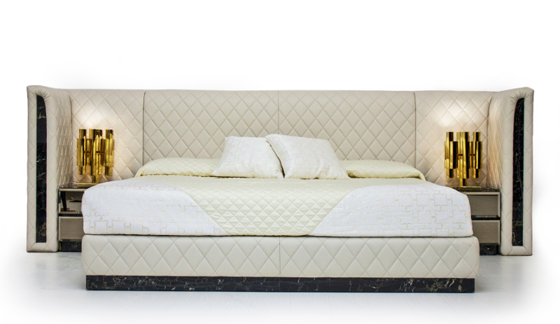 10 amazingly beautiful luxury beds l 39 essenziale for Royal headboard