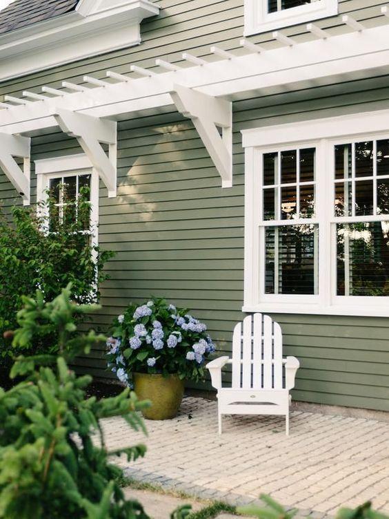 house exterior. Black Bedroom Furniture Sets. Home Design Ideas