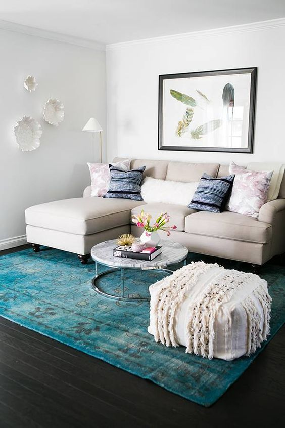 Cool Ideas To Make A Small Living Room Look Bigger