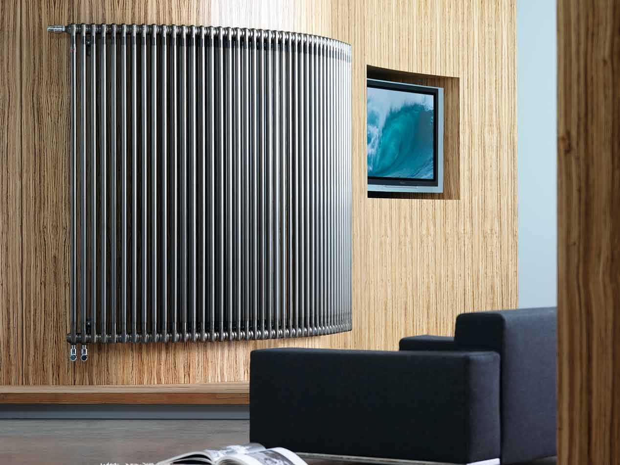 Decorative radiators that will leave your living room looking chic for Contemporary radiators for living room
