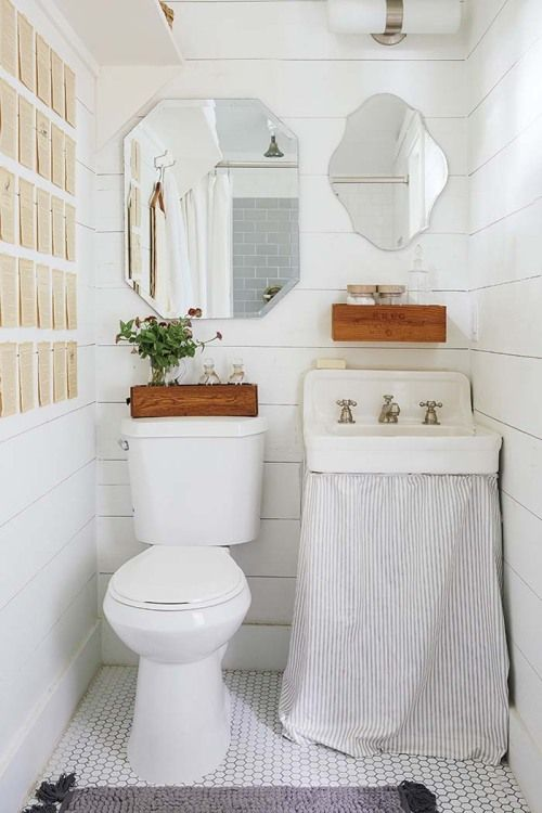How to Hide Ugly Plumbing Fixtures