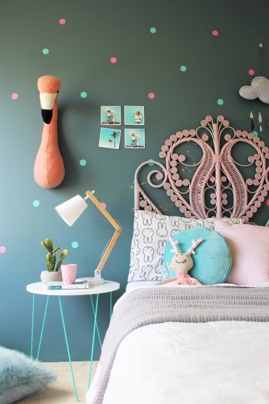 Four Paint Colours That Can Go Perfectly Well With Your Little Girl's Room