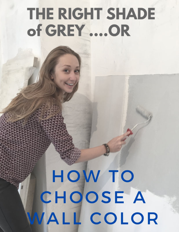 How to Choose a Wall Color (or Pick the Right Shade of Grey)