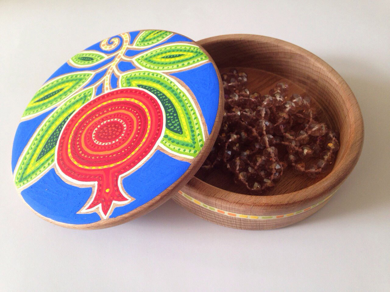 Boho chic jewelry box. Boho dream