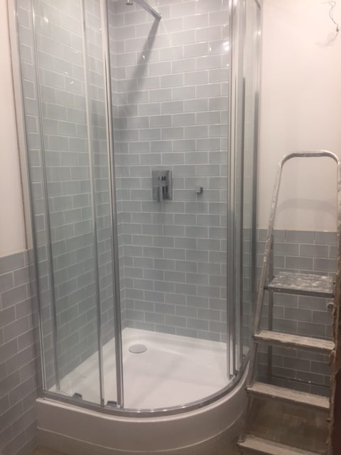 bathroom remodel from start to finish