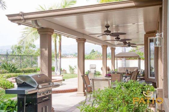 Alumawood Lattice Patio Covers