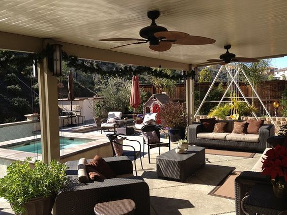Alumawood Lattice Patio Covers Are Available In A Range Of Seven Different  Colors To Suit Your Homes Color Scheme. Your Lattice Can Be Custom Designed  To ...