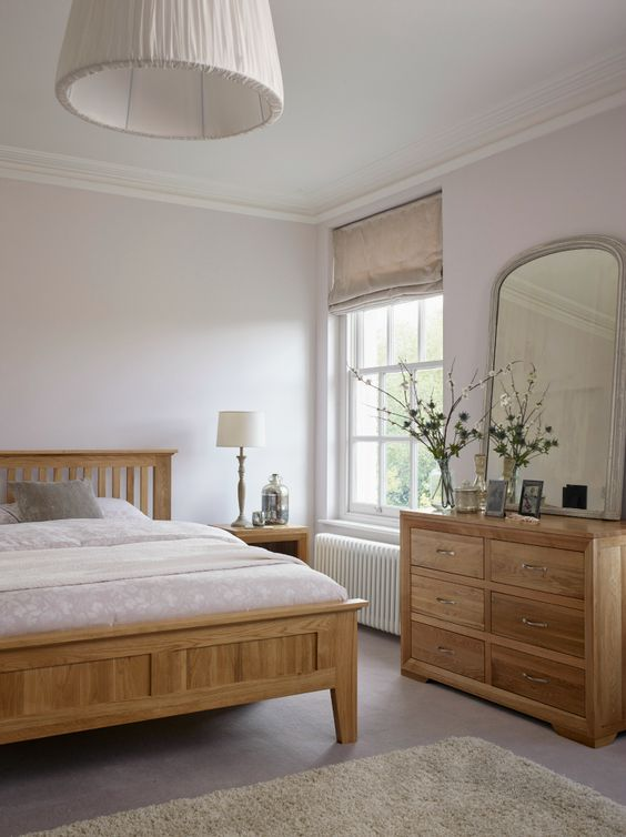 How to incorporate natural oak furniture in modern for Bedroom ideas oak bed