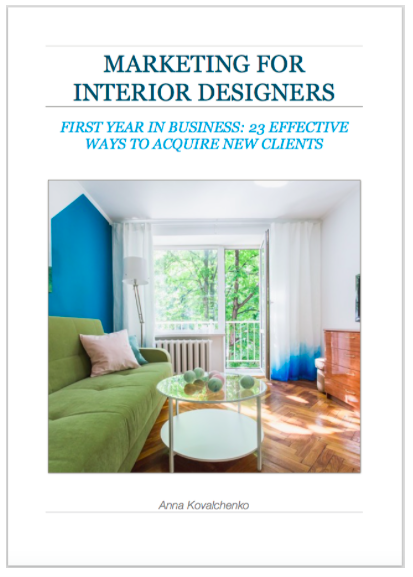 marketing for interior designers book