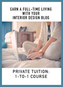 Monetize interior design blog