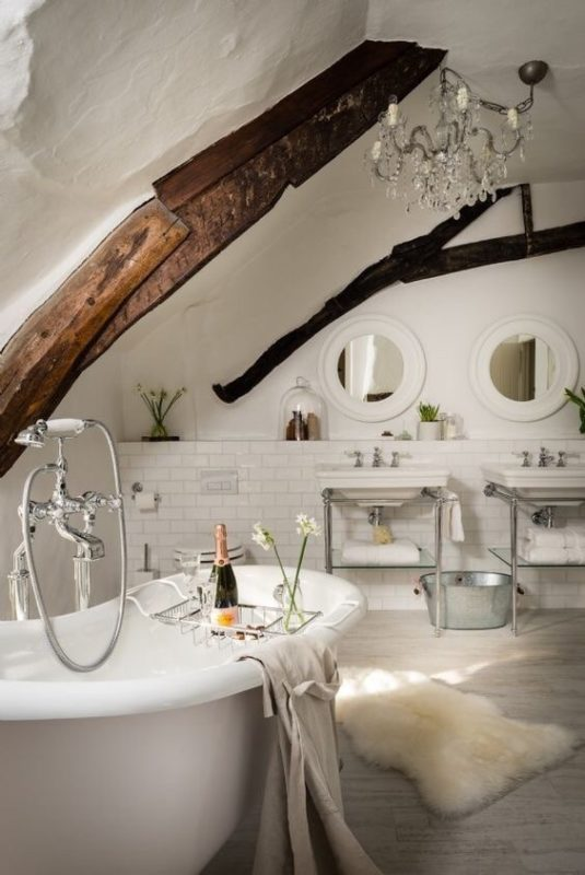 Classy Ways to Make Your Bathroom A Winter Wonderland