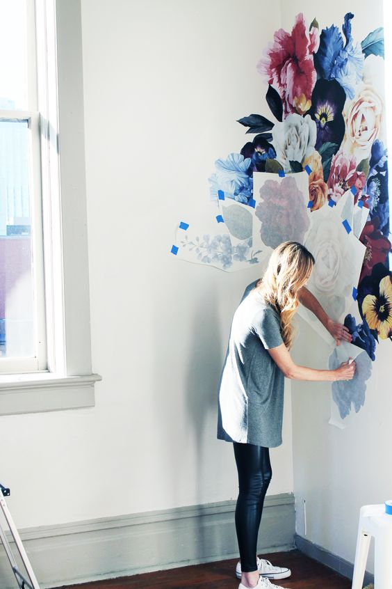 decorating a wall