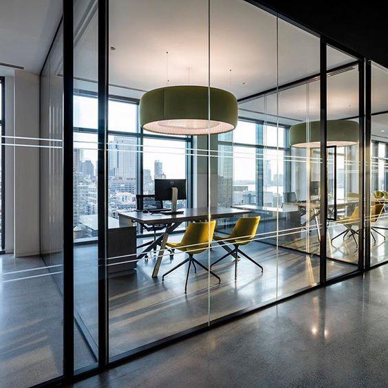 Office Lighting Ideas: Trendy Office Space LED Lighting Design Ideas