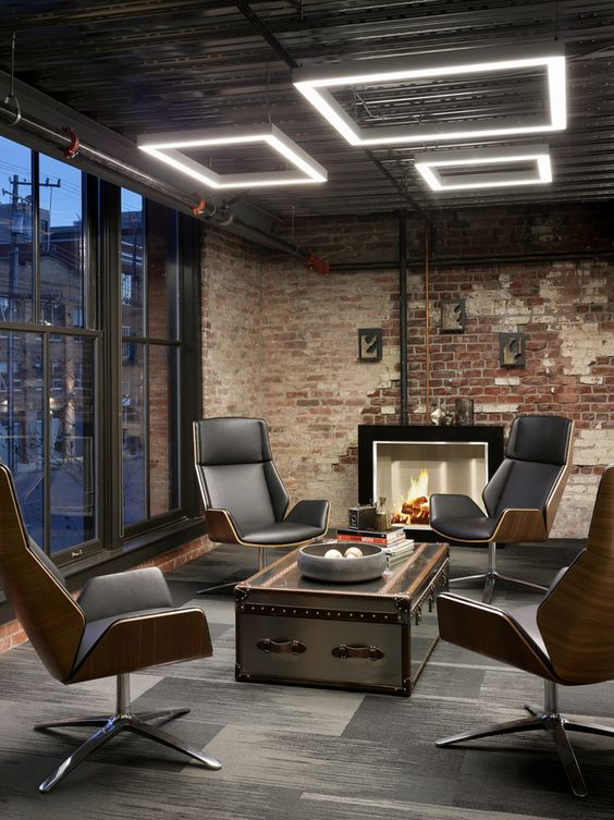 Trendy Office Space LED Lighting Design Ideas L Essenziale