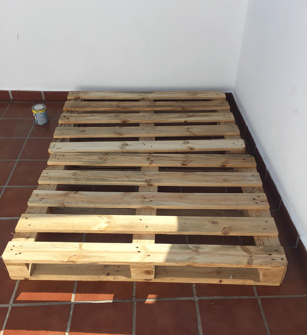 Diy Project Pallet Daybed L Essenziale