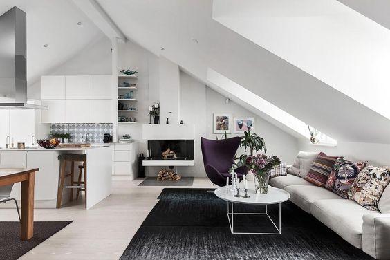Bedroom Kitchen Or Dressing Room 3 Popular Interior Scenarios For Attic Rooms