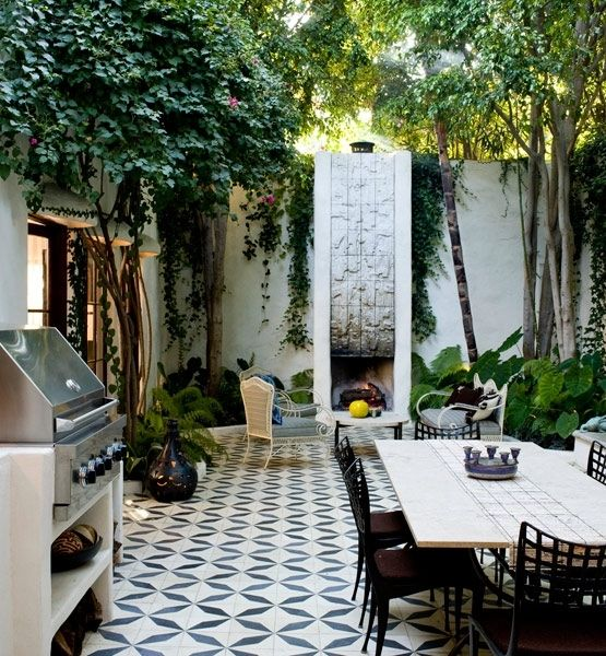The Beauty Of Modern Courtyards L Essenziale