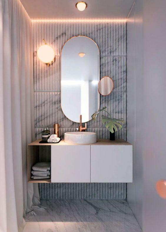 3 Colors That Help Make A Small Bathroom Look Bigger