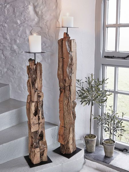 How To Fit Driftwood Furniture Into