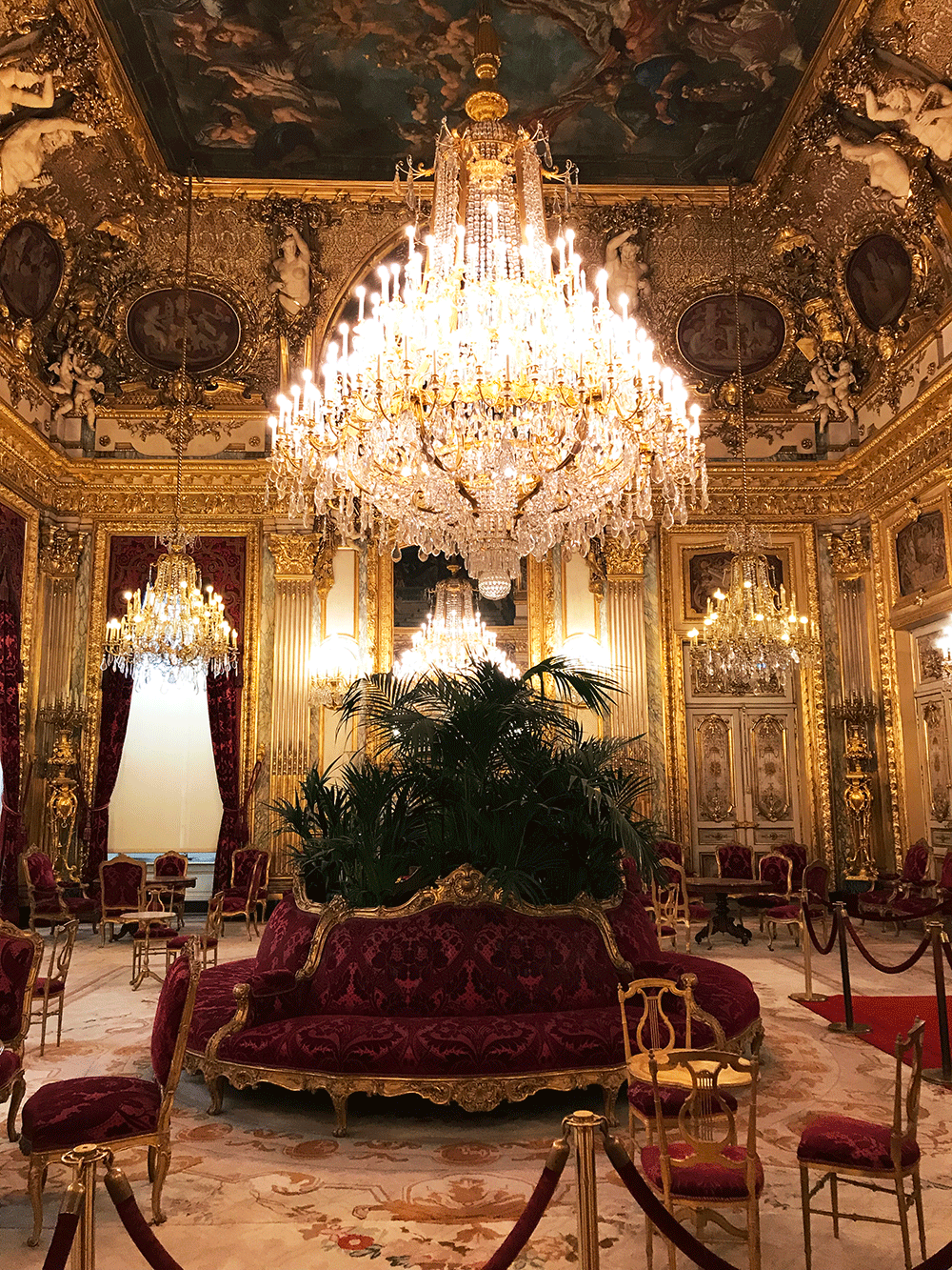 One Day In Paris Napoleon Iii Apartments In The Louvre L Essenziale
