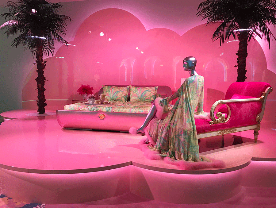 New Versace Home Collection At Milan Design Week L