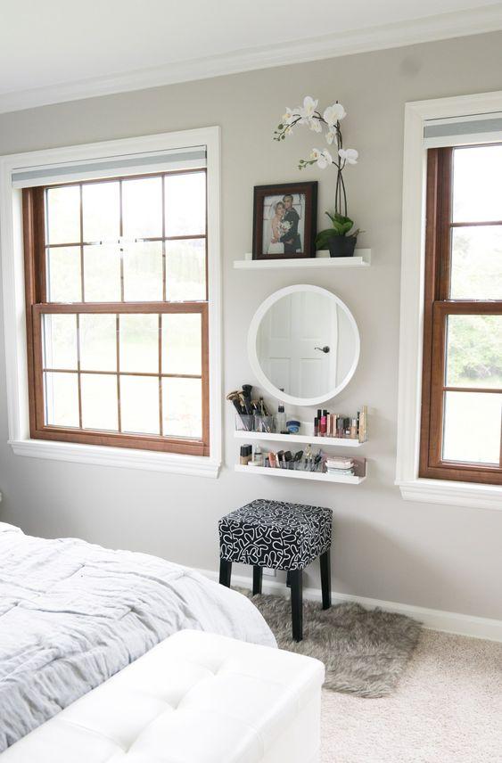 Pleasing 7 Diy Makeup Vanity Ideas Lessenziale Andrewgaddart Wooden Chair Designs For Living Room Andrewgaddartcom