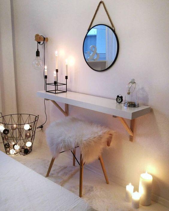 7 Diy Makeup Vanity Ideas L Essenziale